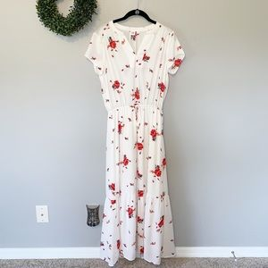 Gap Floral Maxi Dress | Size S